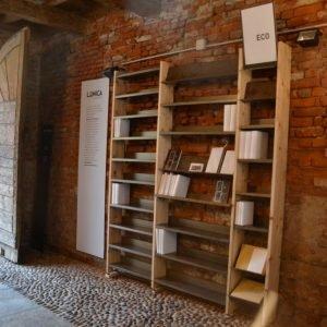 Libreria L,Unica ecosostenibile