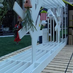 Triennale, Giardino delle sculture: House of Birds