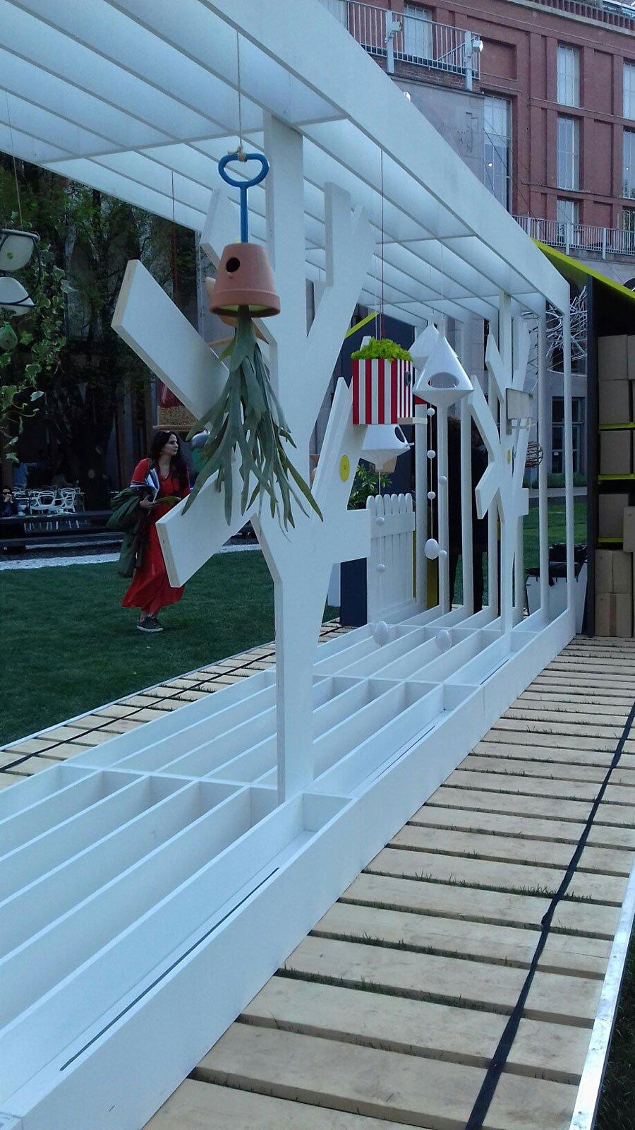 In triennale gli uccellini trovano casa d 39 autore cose for Giardino triennale
