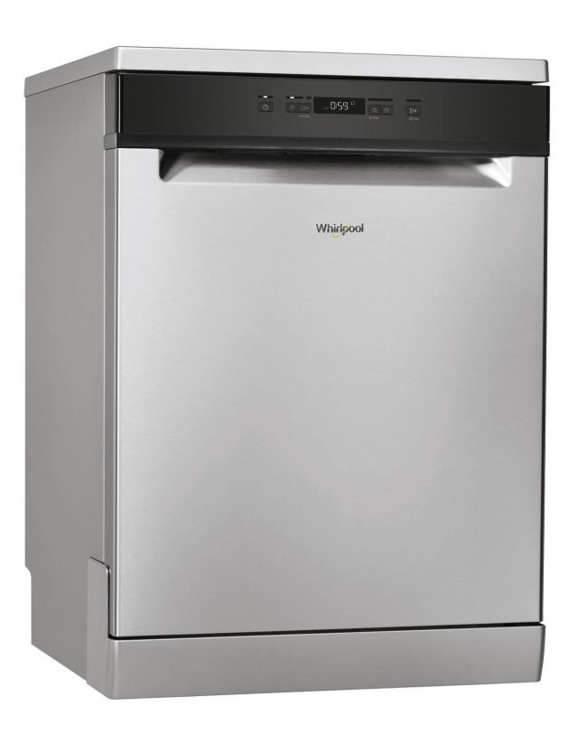Grazie alla tecnologia 6° Senso PowerClean Pro e PowerDry, la lavastoviglie per 14 coperti SupremeClean WFO3033DX di Whirlpool permette di lavare facilmente e asciugare completamente un pieno carico in solo un'ora. Consuma a ciclo solo 9 litri di acqua e è in classe di di efficienza energetica A+++. Misura L60xP60xH85 cm. Prezzo 899 euro. www.whirlpool.it