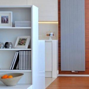 Radiatore decorativo in alluminio estruso: la soluzione innovativa per migliorare il comfort domestico risparmiando nel contempo molta energia (nella foto il modello Bryce Plus di Vasco).