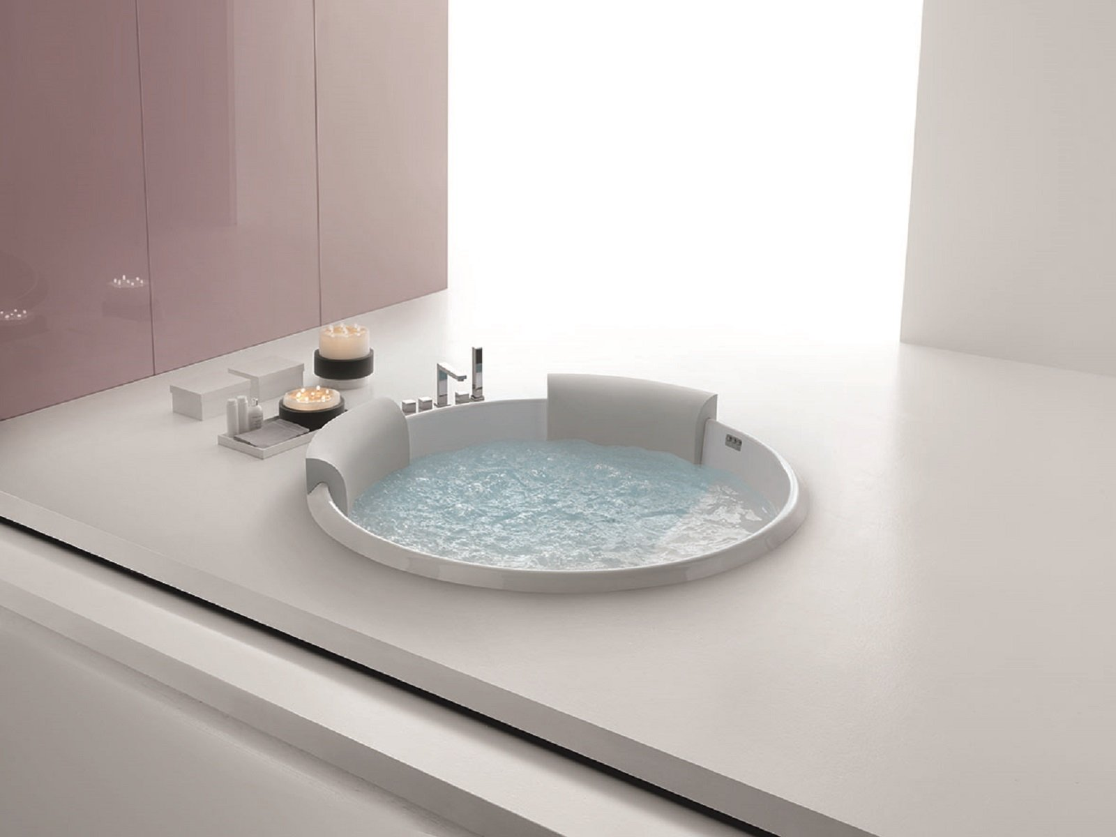 Vasche da incasso a parete o nell angolo - Dimensioni minime vasca da bagno ...
