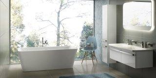 Vasche a libera installazione, protagoniste del bagno