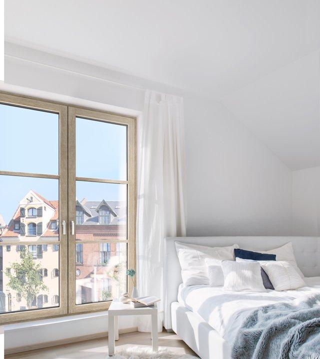 Internorm foto 2 hf 410 finestra in legno for Finestra legno bianco