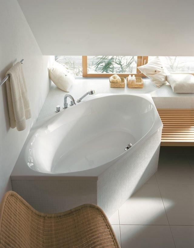In svariate forme e misure le vasche da incasso si adattano alle dimensioni e alla composizione - Vasca da bagno duravit ...