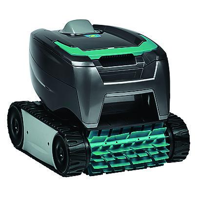 Per pulire il fondo della piscina, la soluzione più comoda è il robot Zodiac. Tornax 21 è il pulitore elettrico ideale per piscine interrate e fuoriterra di dimensione massima di 32 metri quadrati, con fondo rigido. Costa 599 euro.