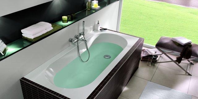 In svariate forme e misure, le vasche da incasso si adattano alle ...