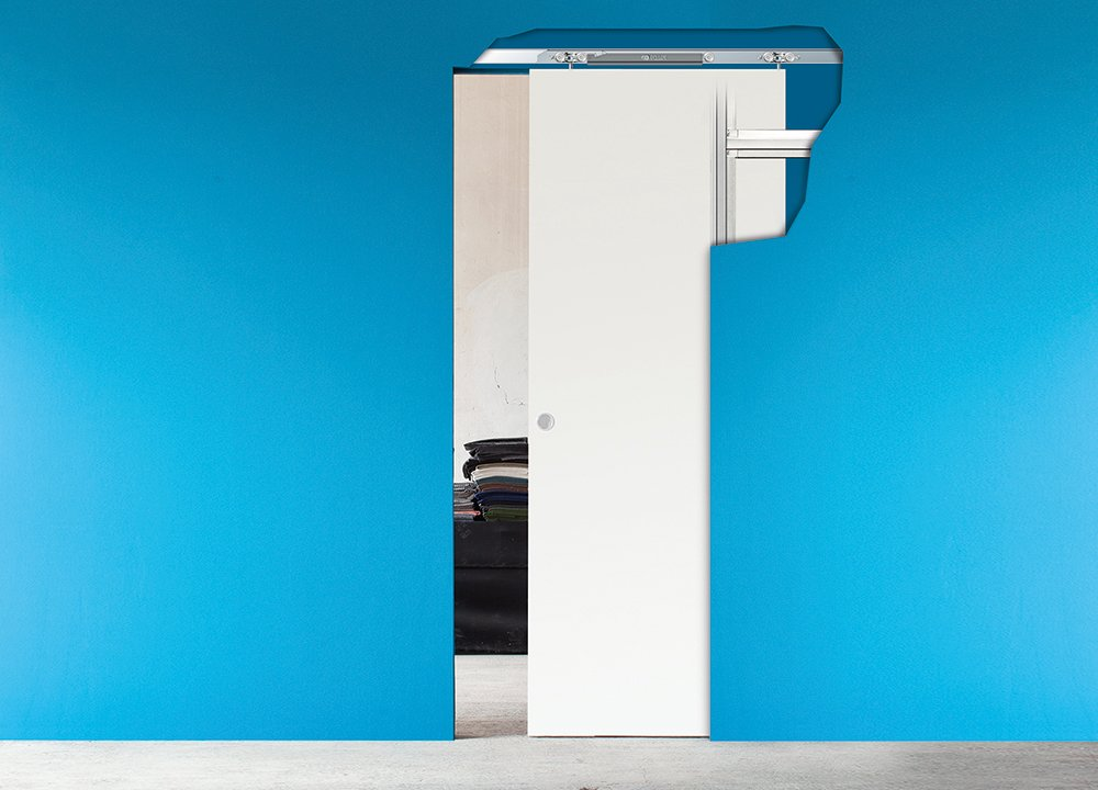La porta scorrevole salvaspazio ma quanto spazio le for Quanto costa una porta scorrevole