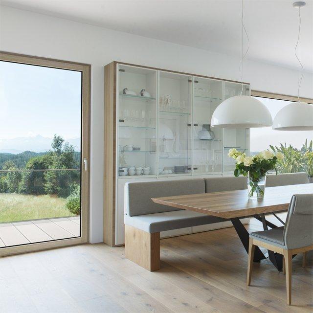 La nuova finestra in legno alluminio hf410 la natura pi bella dentro casa cose di casa - Costruire una finestra in alluminio ...