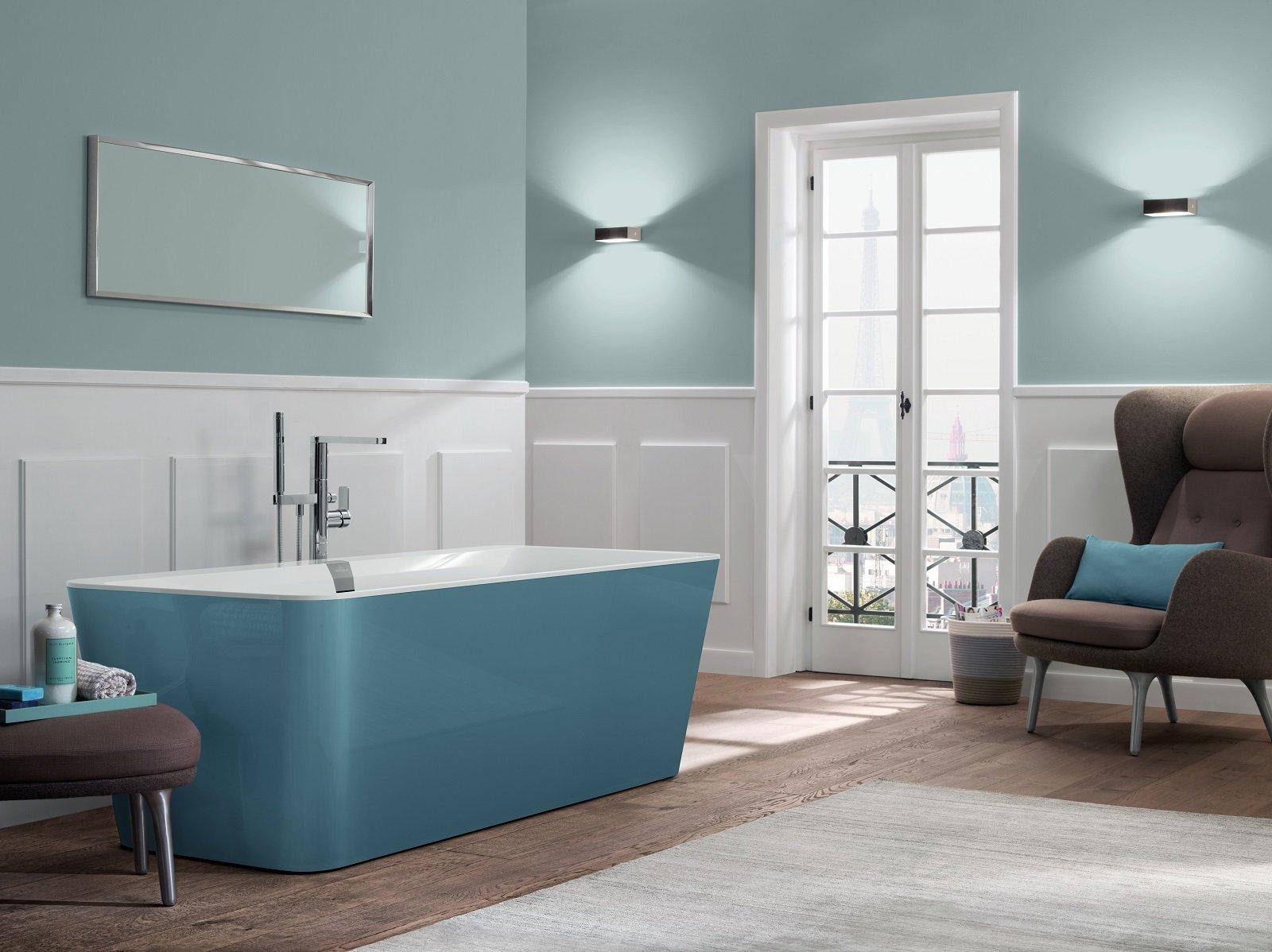 Vasca Da Bagno Villeroy Boch Prezzi : Molto scenografiche e dimpatto le vasche a libera installazione