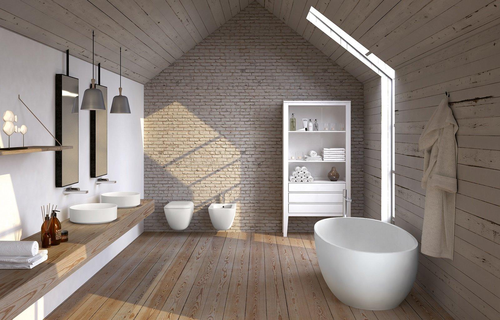 Vasca Da Bagno Libera Installazione : Vasca da bagno con doccia idee per casa