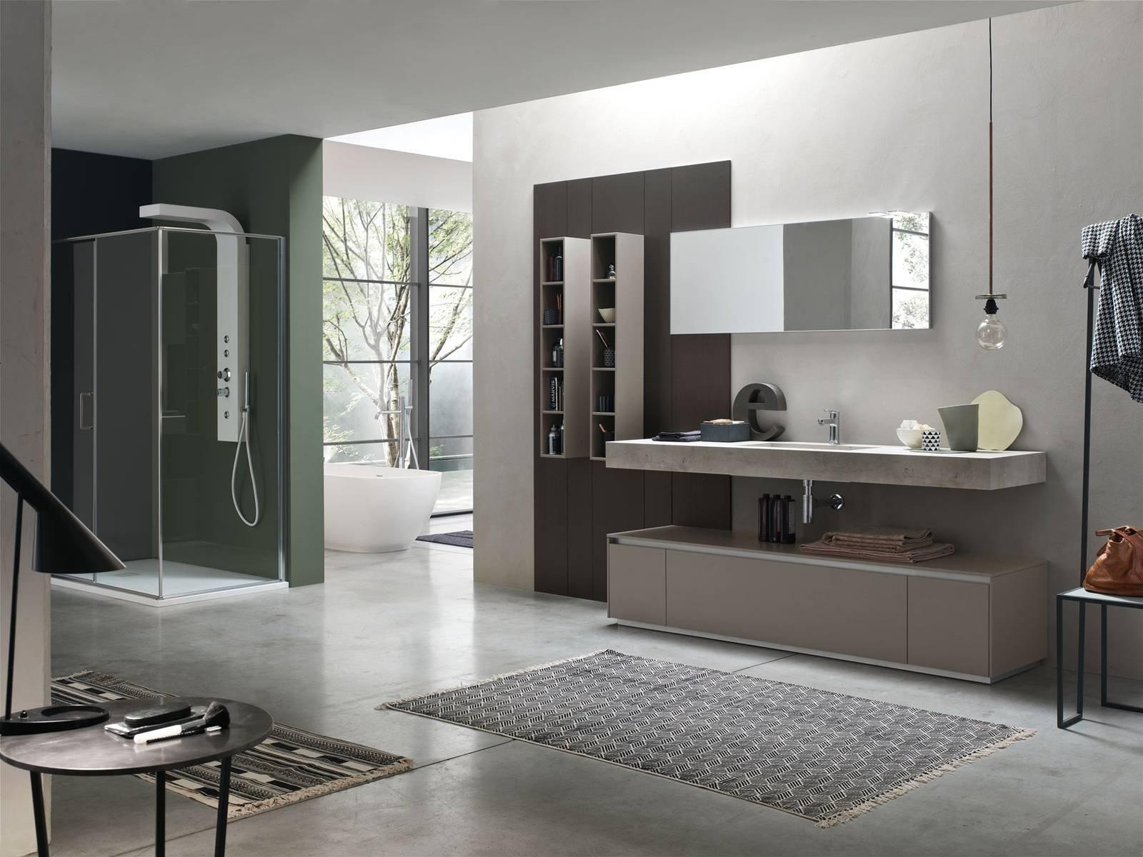 Arredare il bagno con escape di arcom cose di casa for Arredare bagno grande