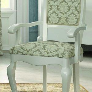 Tavolo e sedie in stile classico in versione shabby o total white cose di casa - Tavolo e sedie shabby ...