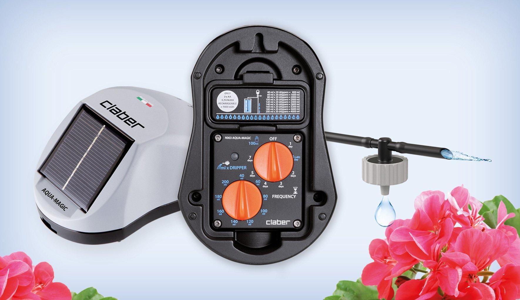 Irrigazione automatica anche senza rubinetto cose di casa for Programmatore irrigazione orto