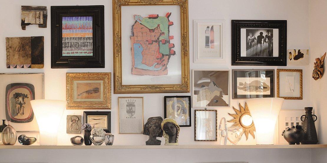 Illuminare i quadri: dal basso, dall'alto o con luce diffusa?