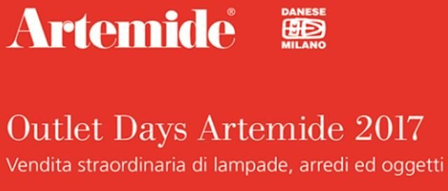 Artemide Outlet Days 2017