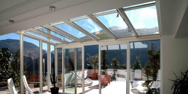 Per verande e coperture vetrate, serramenti isolanti ed efficienti