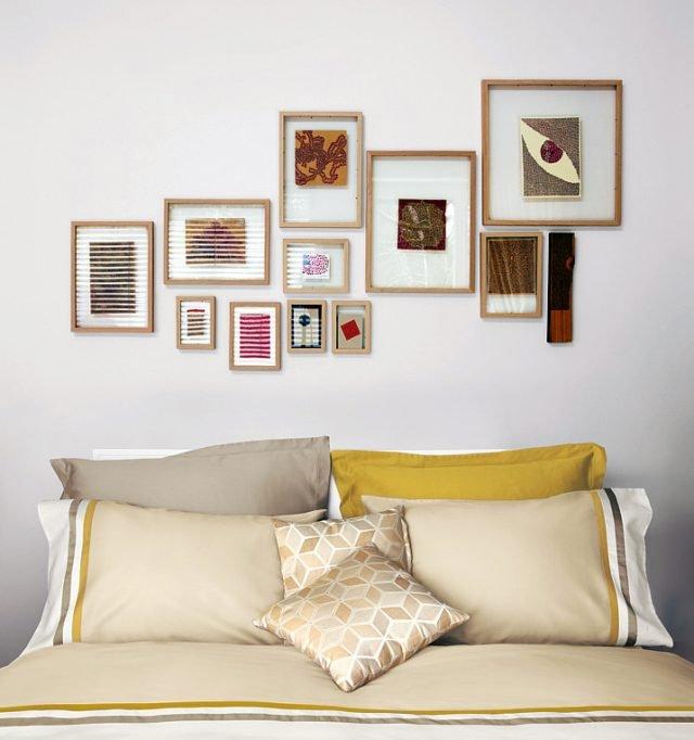Appendere i quadri come disporli bene sulla parete - Quadri sopra testata letto ...