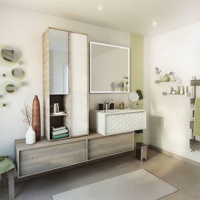 Mobile bagno pi di 500 idee per rinnovare l 39 ambiente - Idee x il bagno ...