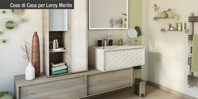 Accessori Bagno Da Appoggio Leroy Merlin.Mobile Bagno Piu Di 500 Idee Per Rinnovare L Ambiente Cose Di Casa