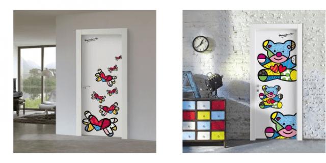 Porte decorate: arredare con le ante - Cose di Casa
