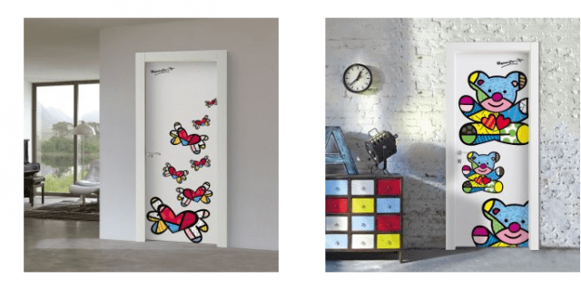 Porte decorate: arredare con le ante