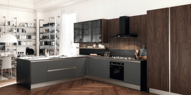 Cucina a L: 10 composizioni ad angolo