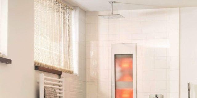 In casa, i benefici del sole sotto la doccia