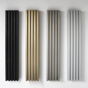 Nuove finiture metal look per alcuni radiatori Tubes