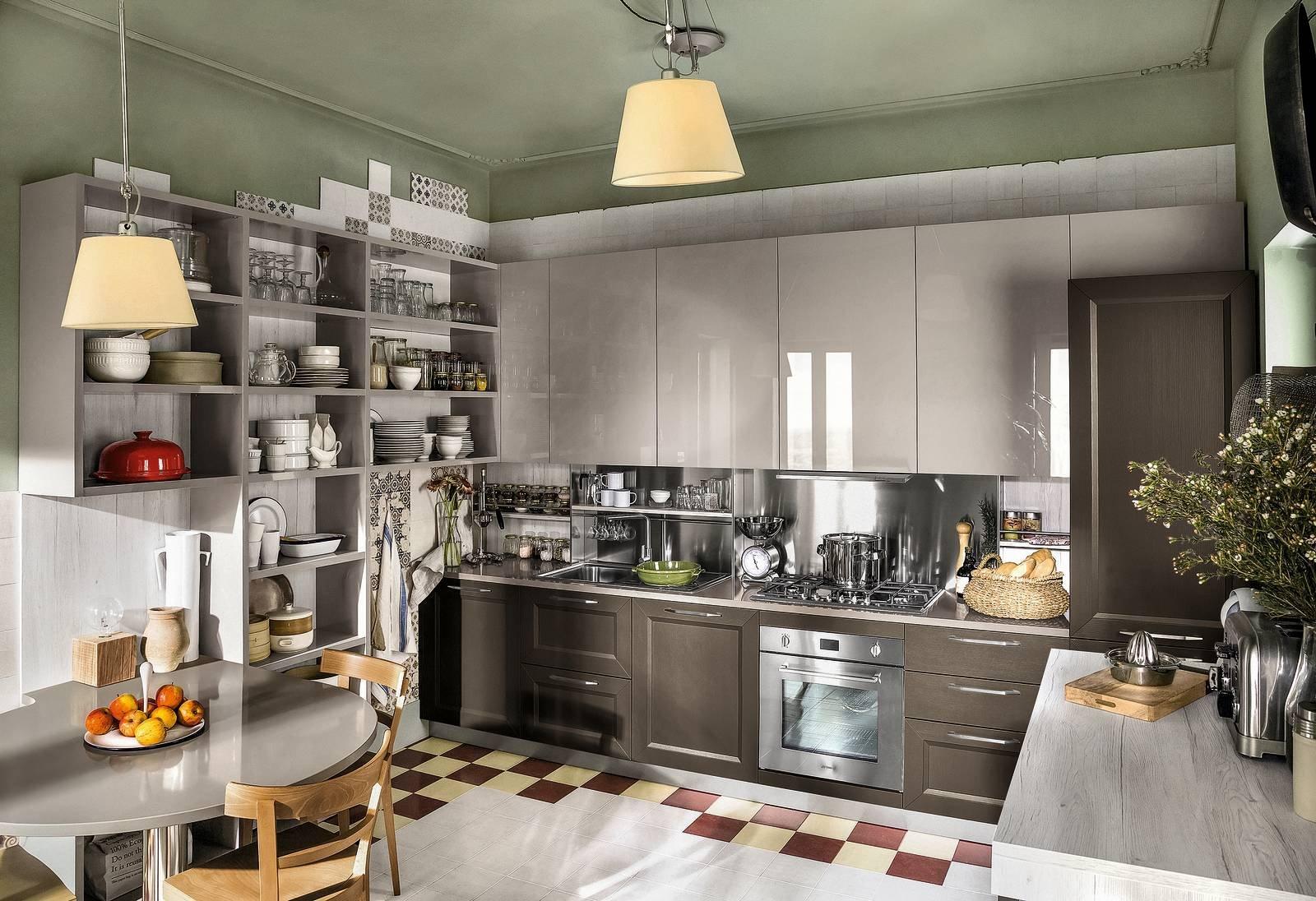Veneta cucine tablet 86 cucine effetto legno cose di casa - Cucina laminato effetto legno ...