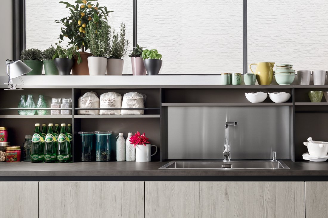 Cucine Industrial Style : Cucine dal carattere deciso per atmosfere industrial style