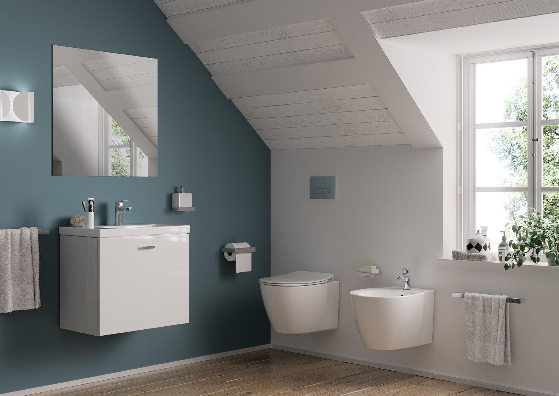Connect Space: sanitari, lavabi e mobili bagno salvaspazio - Cose di ...