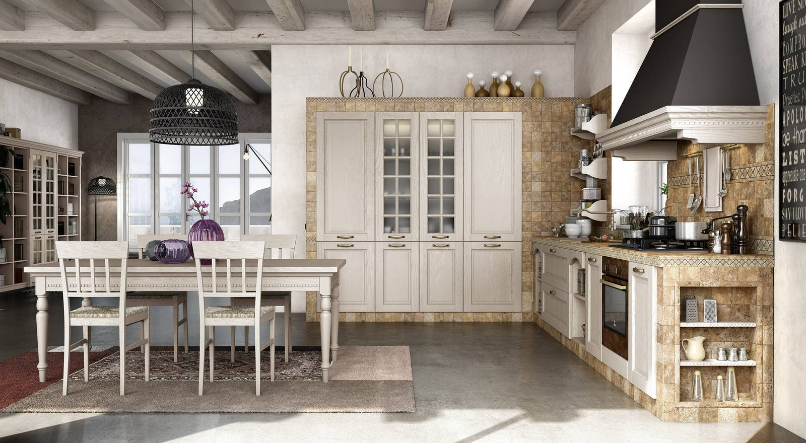 Beautiful Cucine In Stile Country Gallery - Home Design Ideas 2017 ...