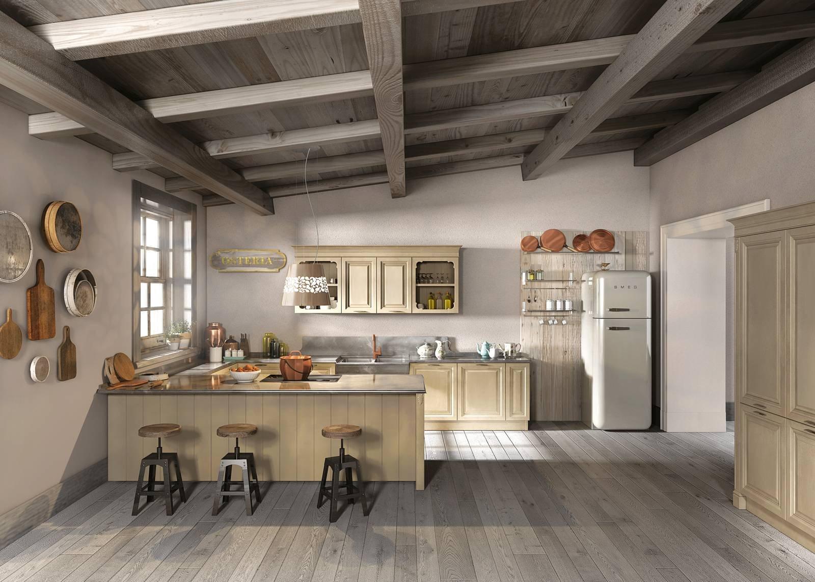 Cucine Berloni cucine berloni classiche : Cucina in stile country. Anche in versione attuale - Cose di Casa
