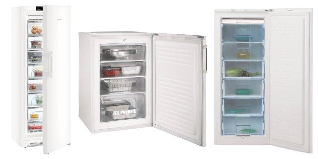 Congelatori a cassetti, detti anche congelatori verticali
