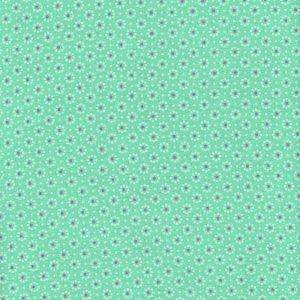 Plastificata con base in cotone, la tovaglia a piccoli motivi floreali di A.U.Maisons è venduta da Room12 (www.room12.it); in altezza 140 cm, al metro costa 25 euro