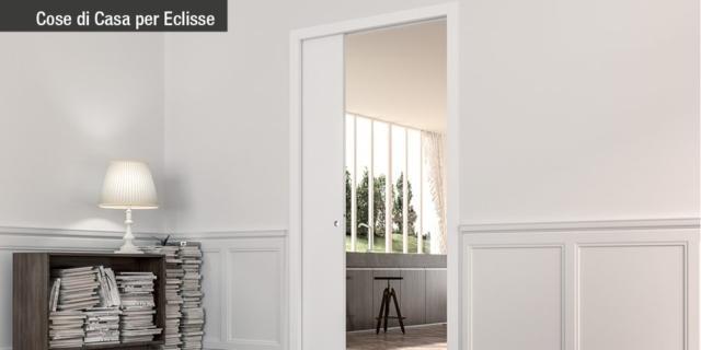 La porta scorrevole è salvaspazio… Ma quanto spazio le serve? Scoprilo con il configuratore!