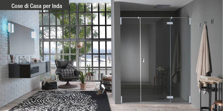 Living style per il tuo bagno scopri azure di inda cose di casa - Docce per bagno ...
