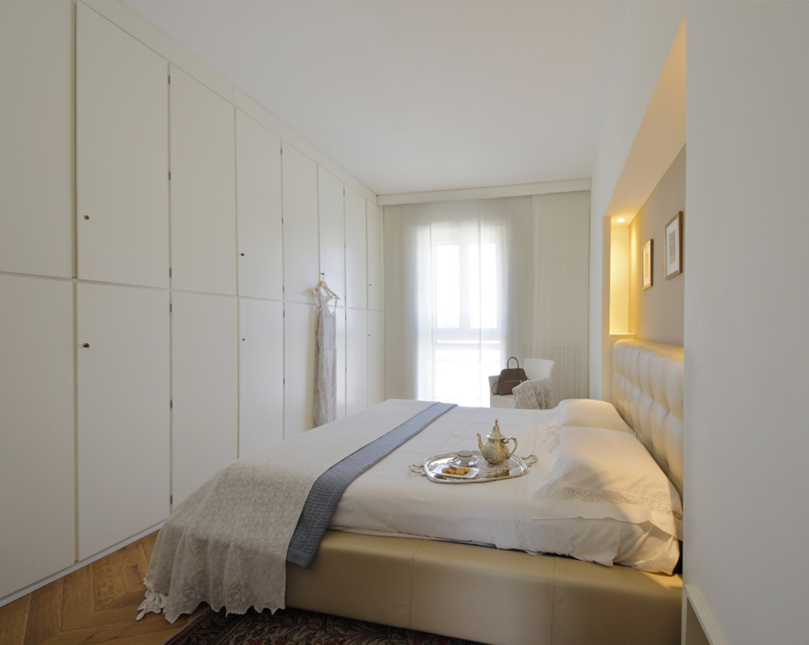 130 mq soggiorno doppio e cucina separata per la casa con - Camera da letto piccola consigli su distribuzione ...