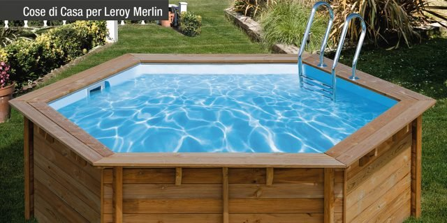 Un tuffo in piscina: refrigerio d'estate