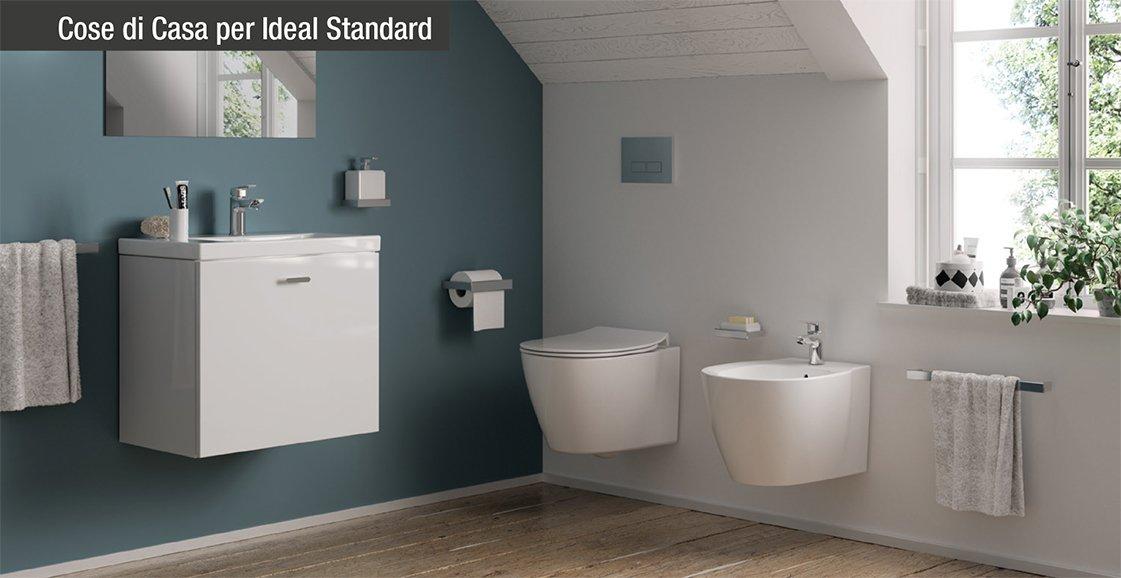 Connect space sanitari lavabi e mobili bagno salvaspazio for Mobili salvaspazio bagno