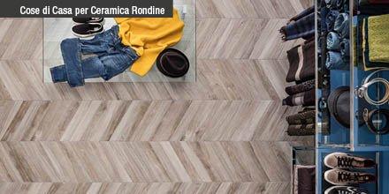 Ceramica Rondine: il fascino delle piastrelle effetto legno ed effetto marmo