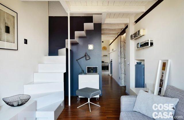 Nuovo livello mansardato e soppalco per 60 mq ristrutturati a 1100 euro al mq cose di casa - Scala per bagno ...