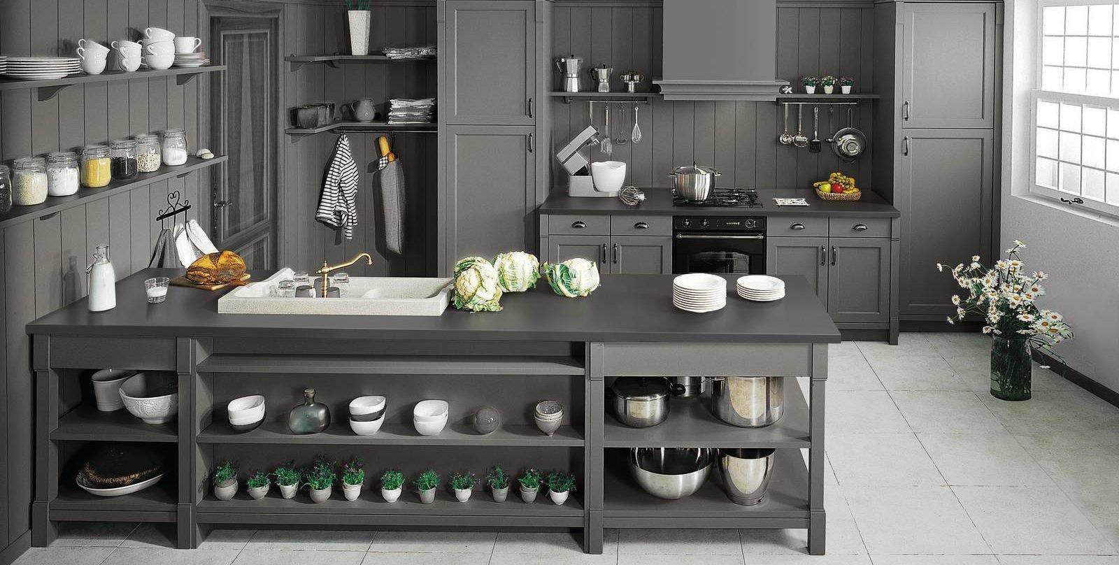 Schmidt p067 cose di casa - Cucine in stile country ...