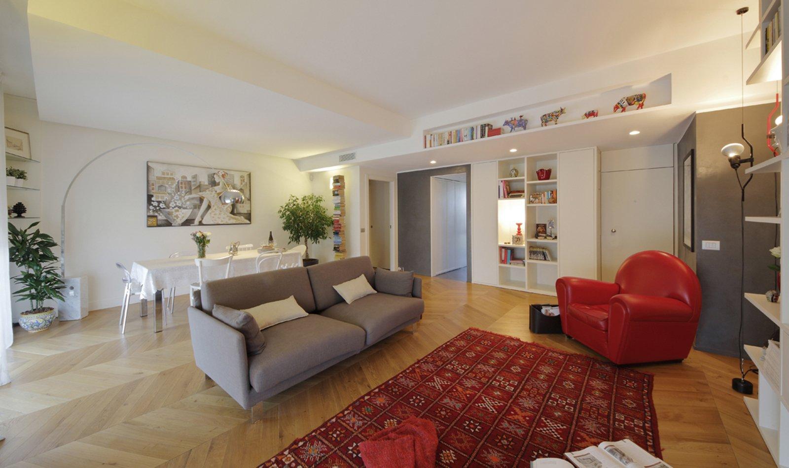 130 mq soggiorno doppio e cucina separata per la casa con - Cucina doppio angolo ...