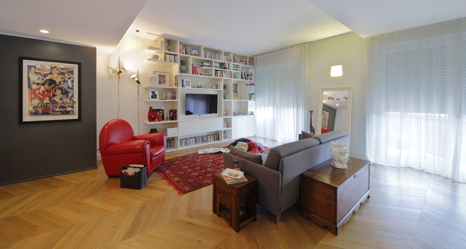 130 mq soggiorno doppio e cucina separata per la casa con for Ben arredo