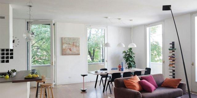 Cose di casa arredamento casa cucine camere bagno for Idee arredamento soggiorno pranzo
