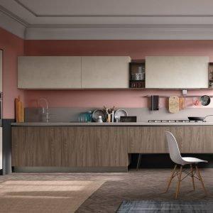 Cucina effetto legno: la bellezza dell\'essenza con i vantaggi ...
