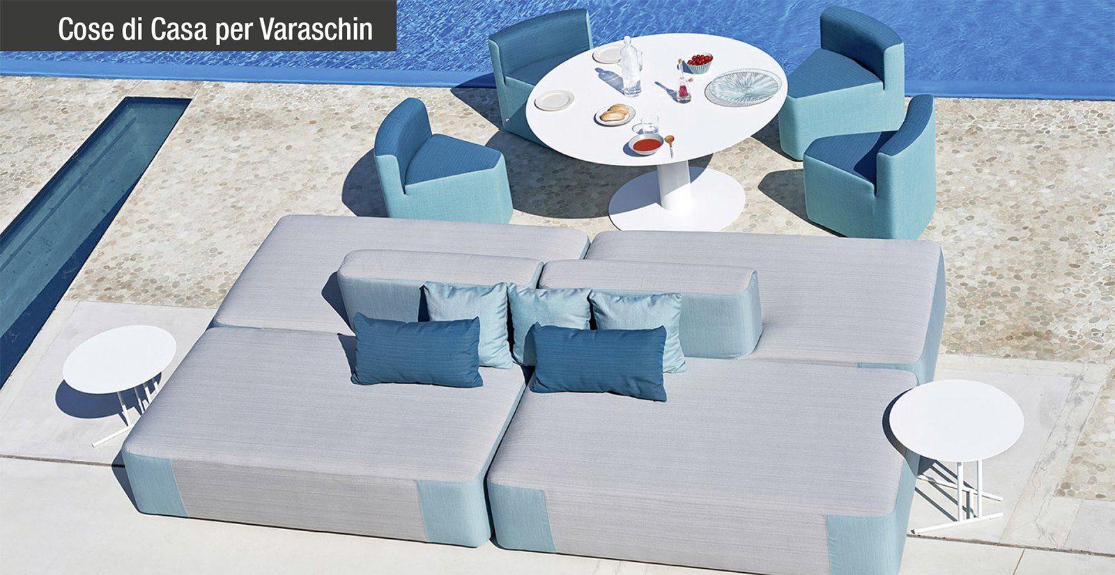 Comfort e qualit con l arredo open air di varaschin for Varaschin arredo giardino