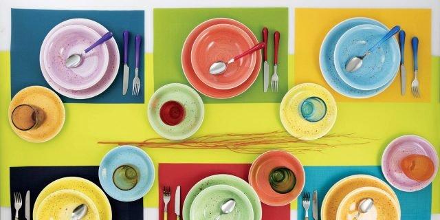 Apparecchiare multicolor: voglia di spensieratezza da assecondare!